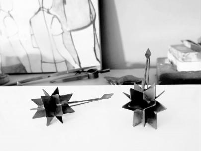 Husk of a seed  Lefflow Art Studio Natasa Koutsabela