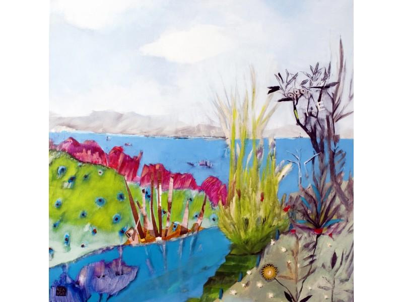 Vegetation in the river