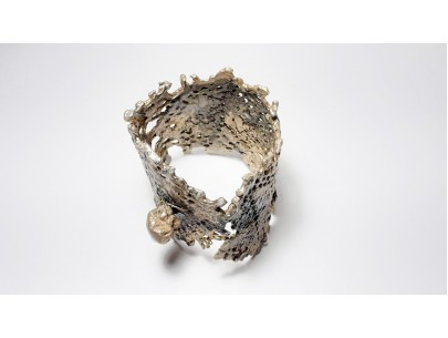 """Perforated landscapes"" bracelet Betty Vakali"
