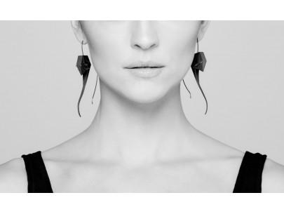 Nautilus earrings Kinga Sulej