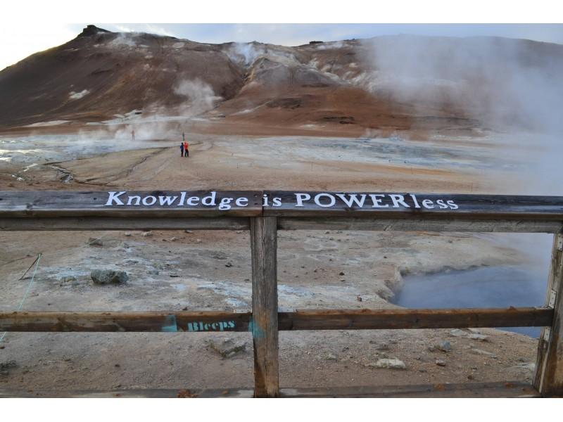 Knowledge is POWERless
