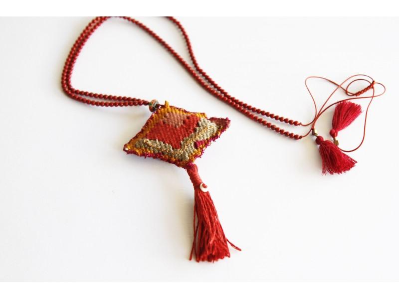 Handwoven talisman Africa