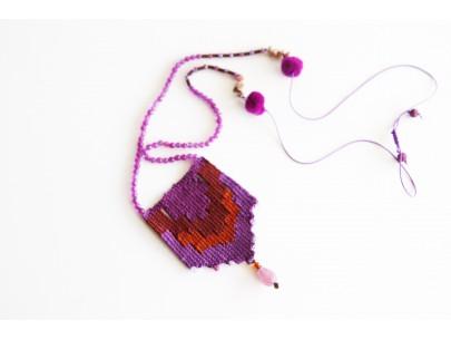 Handwoven talisman ethnic Giota  Bibli