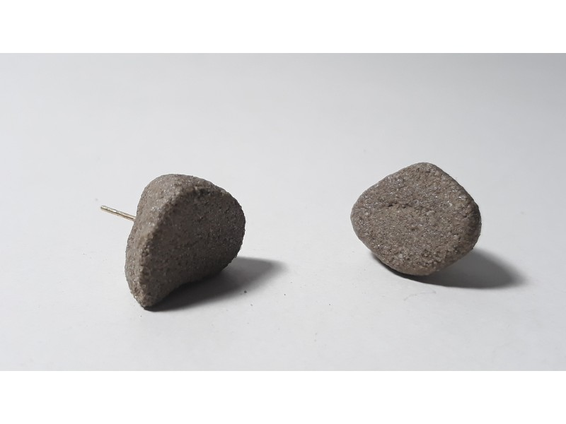 Without Norms/Pebble earrings