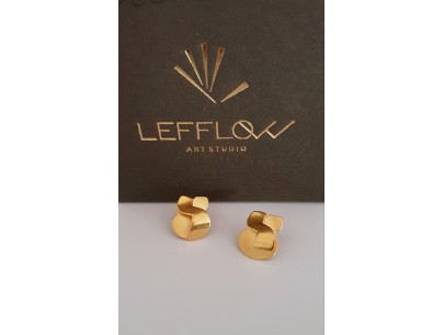 A little embrace earrings Lefflow Art Studio Anastasia Koutsabela