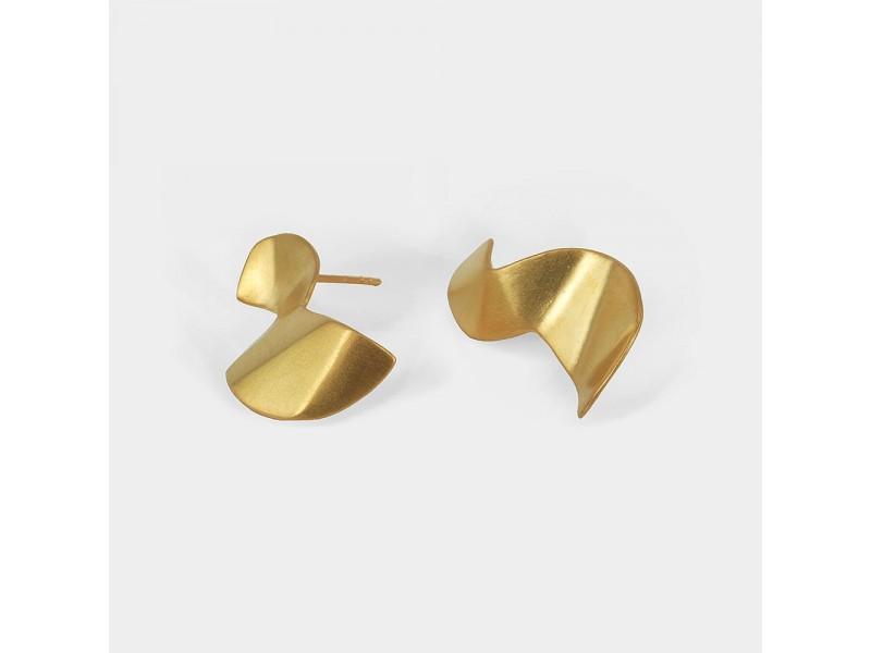 Two sides of love earrings