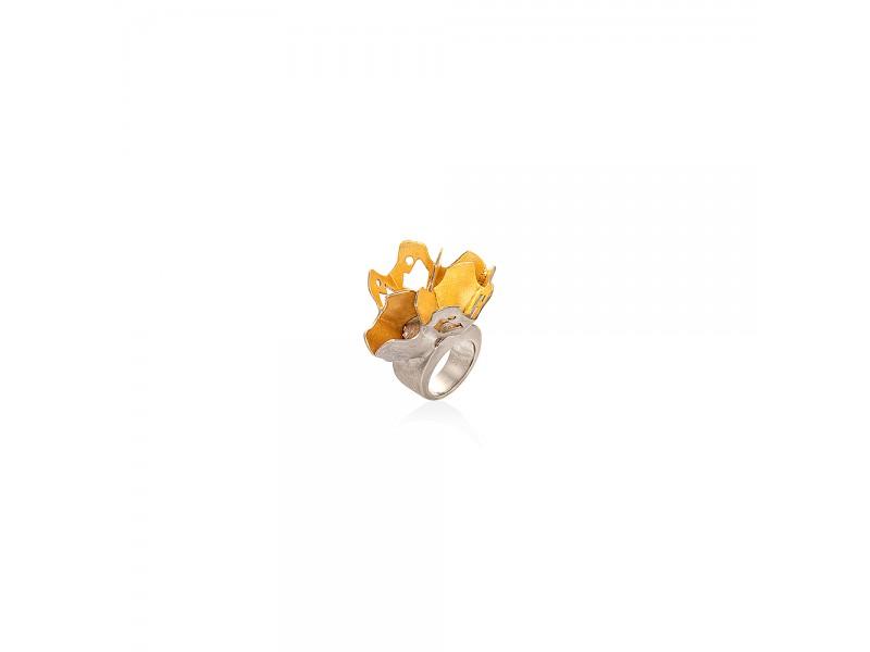 Crown of flower ring